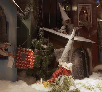 Hansa Compagniet Jul - Barnfönster