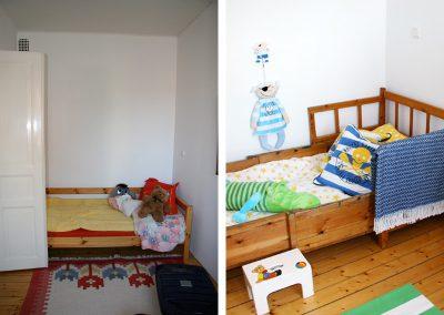 Barnrum före/efter