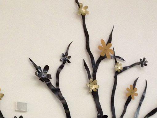 Kv. Caroli – Utsmyckning träd